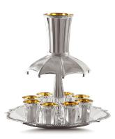 Hadad Bros.Sterling Silver Kiddush Fountain