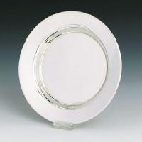 Round Sterling Silver Kiddish Cup Tray