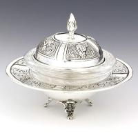 Dome Sterling Silver Honey Dish