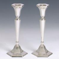Classic Sterling Silver Candlestick Set