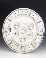 Beautiful Sterling Silver Seder Tray