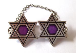 Purple Star of David Talet Clips