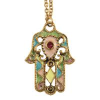 Colorful Jeweled Hamsa