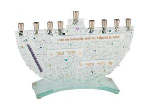 Wedding Shards Menorah