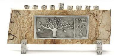Maple Tree of life Menorah