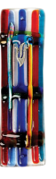 Jacobs ladder Glass Mezuzah