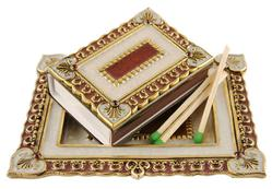 Stanley Collection Jeweled Match Box