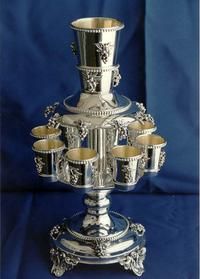 Yossi Sterling Silver wine Fountain