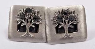 ​  pewter Tree of Life Tallit Clip