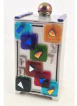 Art Glass Tzedakah Box